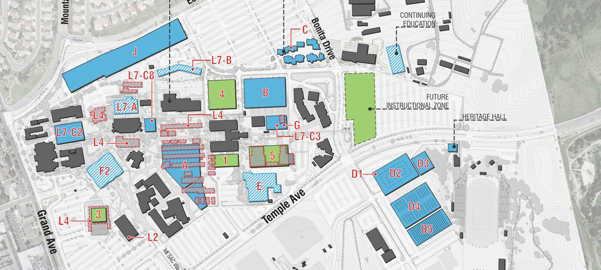 Imirzian Architects | Mt. San Antonio College Master Plan on sac campus map, rockford college map, wyoming college map, pasadena college map, gulf coast college map, miami college map, city college of san francisco map, grand canyon college map, albany college map, valparaiso college map, oklahoma college map, hudson valley college map, buffalo college map, utah college map, long beach college map, denver college map, new jersey college map, university of houston college map, richmond college map, saint philips college map,