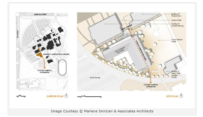 Paradise Valley Community College Campus Map.Imirzian Architects State Of The Art Instructional Facilities